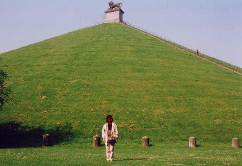 ワーテルローのライオン像の丘
