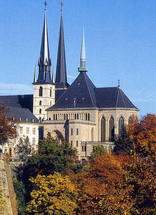 ルクセンブルクのノートルダム寺院