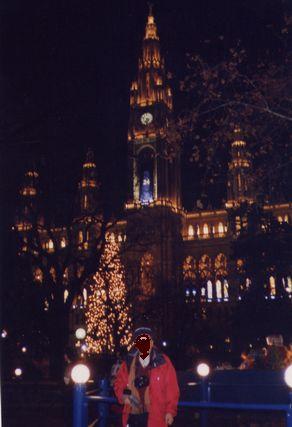 ウイーン市庁舎前広場