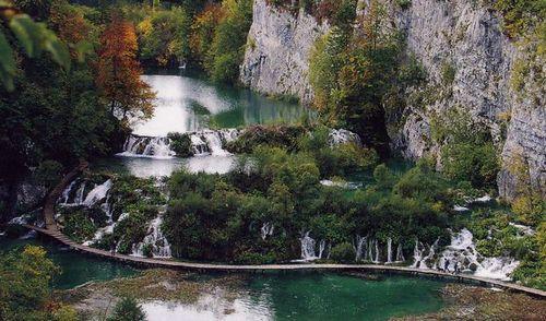 プリトヴイッツエ湖群国立公園