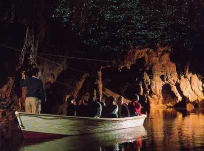ワイトモ・ケープ洞窟