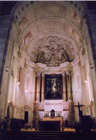 コインブラ大学の礼拝堂