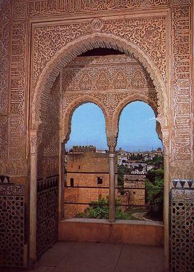 アルハンブラ宮殿内部