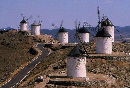 ラマンチャの風車群