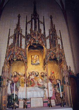 フランクフルト大聖堂内部