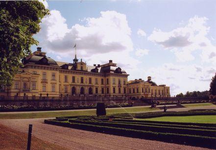 ドロットニングホルム宮殿(ウウエーデン)