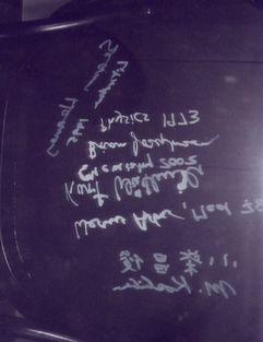 小柴昌俊さんのサイン
