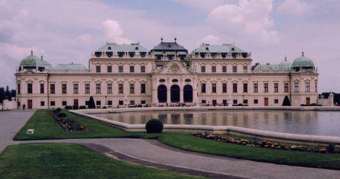 ベルヴエデーレ宮殿